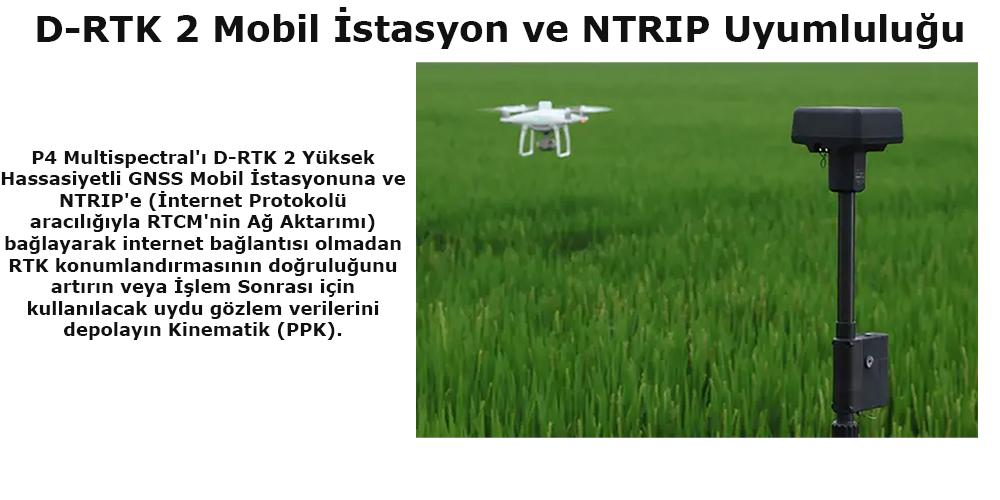 D-RTK 2 Mobil İstasyon